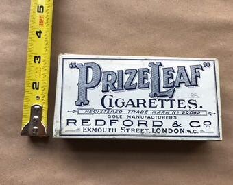 Prize Leaf Cigarette Box