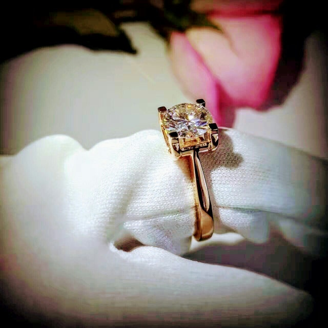 Man Made Diamond Engagement Amp Promise Rings Under By FairyParadise