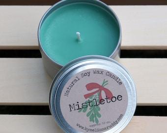 Mistletoe Soy Wax Candle