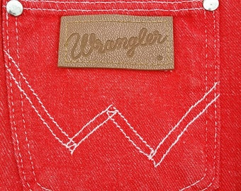 PRICE Drop!!! 70's WRANGLER Misses Booty Shorts HOT Orange