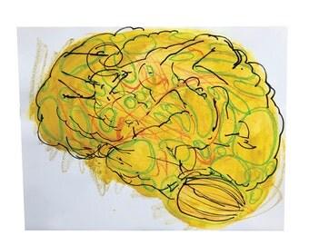 Brain - Original Drawing