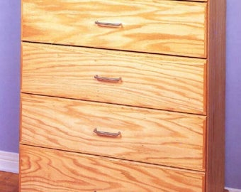 Chest Of Drawers Dresser Woodworking Plans