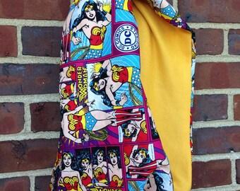 Wonder Woman infinity scarf, Wonder Woman, Wonder Woman scarf, super hero scarf