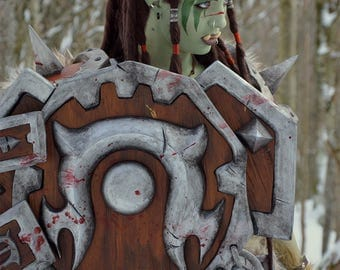 Poster A3 size  – Hearthstone Cosplay – Warsong Commander #2