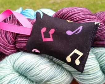 Music Notes Lavender Sachet Handmade