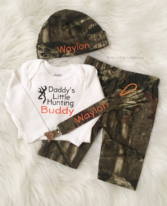 Mossy Oak Break-Up Infinity Baby Boy Newborn Take Home Outfit, Camo Gift Set, Going Home Outfit, Baby Shower Gift Set, Camo Newborn Boy Set