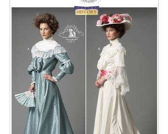 Butterick B5970 Ruffled Tops and Floor-Length Skirts