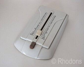 1960s Retro Teledex Bakelite Telephone, Address Finder