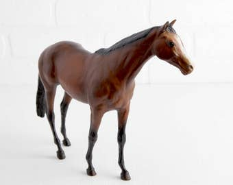 Vintage Breyer Horse Touch of Class, Bay Horse Figurine
