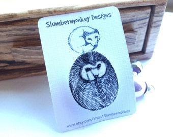 Hedghehog Shrink Plastic Pin, Cute Hedgehog Brooch, Woodland Animal Jewellery, Gift For Aunt, Mum, Coworker, Shrinky Dink Art.