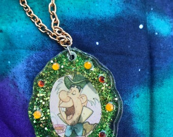 Mad Hatter Cameo Necklace