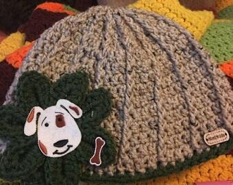 Puppy accent hat