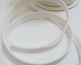 8 mm - white piping