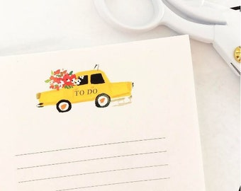 Taxi Notepad