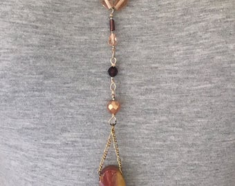 Agate Pendant One of a Kind Necklace