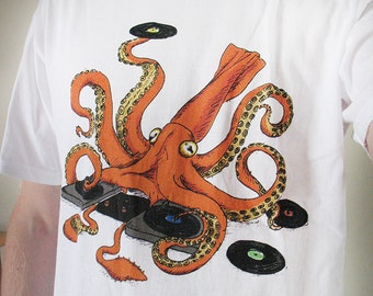 Squid DJ t-shirt