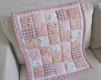 HANDMADE Patchwork Baby/Moses Basket Quilt