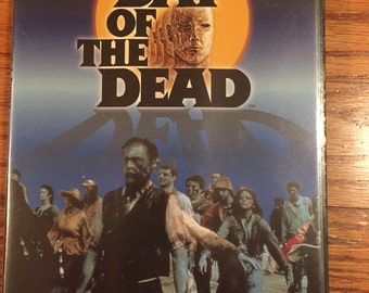 Vintage 80's Day of the Dead George Romeo Horror Zombie DVD Video