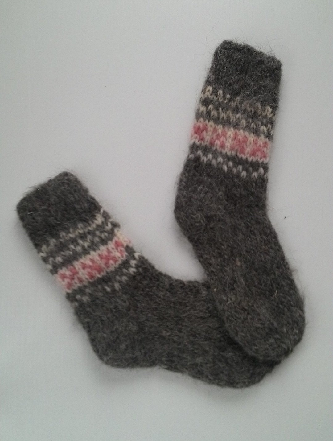 Chunky wool socks thick knitted socks ukrainian national