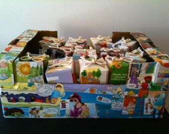 Bomboniere per Bambini in Carta Riciclata ad Origami-Eco Bomboniere-Battesimo-Comunione-Cresima-Baby favors-Eco friendly favors-Baby shower
