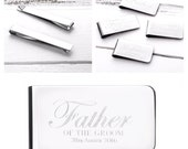 Father of the Bride Gift  Father of the Groom Gift  Godfather gift  Best Man Gift  Personalised Money Clip (W235)