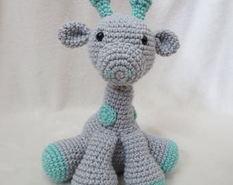 Crochet Giraffe Stuffed Animal