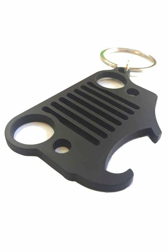 jeep keychain bottle opener black. Black Bedroom Furniture Sets. Home Design Ideas