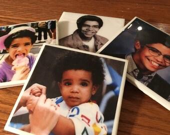 Started From The Bottom (Drake) Tile Coaster Set