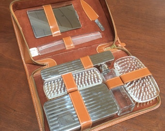Vintage Leather Travel Case - Never Used