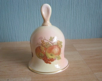"Royal Worcester Palissy ""Royale Collection"" Fruit Bell"