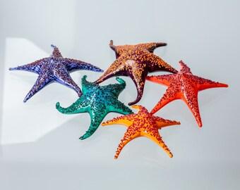 Handmade Glass Starfish