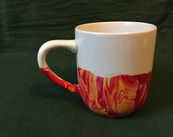 Dipped Water Color Mug