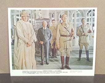 Original ~1963~ 'LAURENCE OF ARABIA' Black and White Glossy Promo Still 8x10 Peter O' Toole