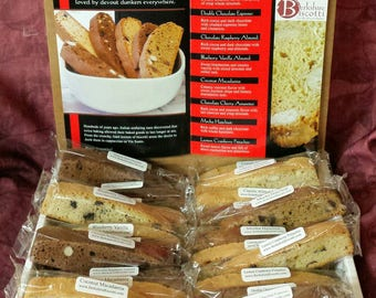 24 Piece Biscotti Sampler