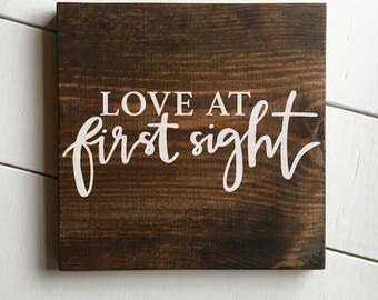 """SALE • 11.5"""" x 11.5"""" • Love At First Sight"""