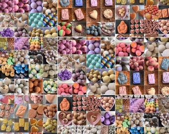 Bath Bomb of the Month Club. 3 Months of Bath Bombs. Shipped. Great Gifting Idea.