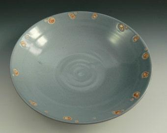 Large Ceramic Bowl, Serving Bowl, Large Wheel Thrown Bowl, Stoneware Salad Bowl, Pasta Bowl, Studio Pottery, Modern Ceramics, Wedding Gift