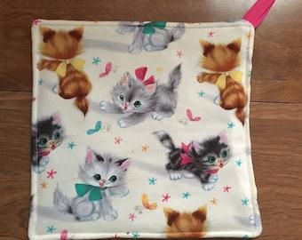 Cat Kitten Kitty Pot Holder Hot Pad