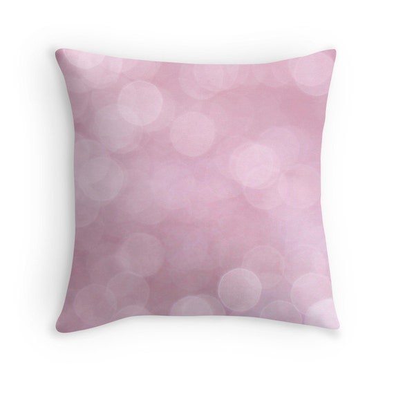 Pink Cushion Pink Pillow Girls Bedroom Pink Decor