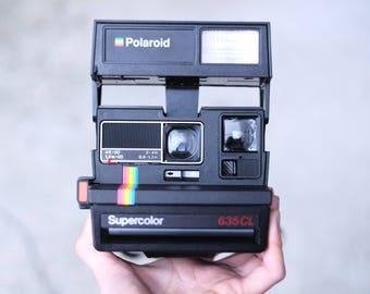Rainbow Polaroid Supercolor 635 CL - Vintage Polaroid - Working Condition