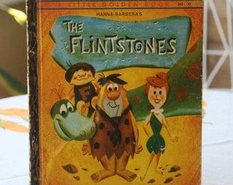 Vintage Little Golden Book The Flintstones 1960