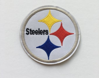Football Teams - Pittsburgh Steelers Logo Embroidered Iron On Patches