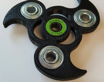 Fidget Spinner  – Fidget Toy – Hand Spinner – 3D-printed - Tri Spinner Toy – Desk Toy. Personalized