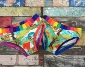 Mummys happy pants! 56 Kids children cotton pants undies comfort Rainbow camping pattern boys girls underwear
