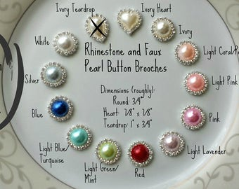 For Reference only!  DO NOT PURCHASE!  Choose a Button Brooch appropriate to your purchase and specify your choice in your order.