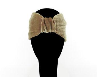 Turbans for hair in silk velvet, many colors