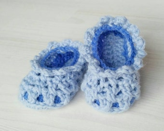 "Baby Slippers ""Emilia"" Pattern"