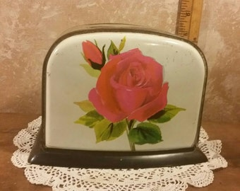 Vintage Toy Toaster w/Roses