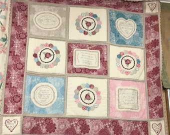 """Quilt pattern """"To My Daughter"""""""