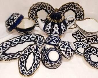 Big Uzbek national East set of dishes-0421